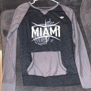 Miami Heat Adidas Sweatshirt